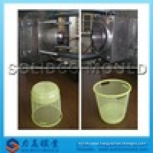 plastic injection garbage can mould, trash bin molding