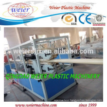SJSZ65 Conical double screw extruder machine for PVC pipe making