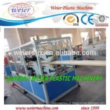 Máquina de extrusora dupla rosca cônica SJSZ65 para fabricação de tubos de PVC