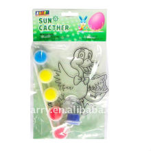 paquete único de lujo estilo Pascua Suncatcher pintura conjunto