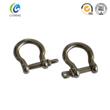 European drop forged safety bow shackle