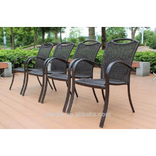2014 hot sale dining room set rattan material dining chair