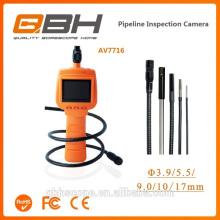 Caméra d'inspection semi-rigide flexible d'inspection d'affichage à cristaux liquides bien endoscope de vidéoscope