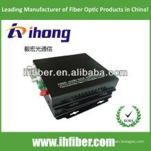 4 Canais Fibra Óptica Video Converter singlemode 20/40 / 60km qualidade de alta qualidade