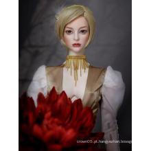 Materiais de roupa DIY BJD para boneca articulada MSD / SD