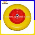 Rempli de mousse PU 4.80/4.00-8 solide roue de brouette en caoutchouc
