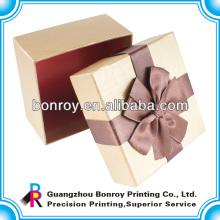 Caja de embalaje de joyas hecha de papel de lujo
