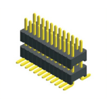 1.27mm Pin Header Dual Row SMT Type