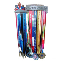 Amaozn Hot Sale Custom Logo No Limits Medal Hanger, Metal Iron Medal Display Hooks For Home Decor