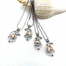 Pearl Cage Pendants DIY Jewelry Making Accessory