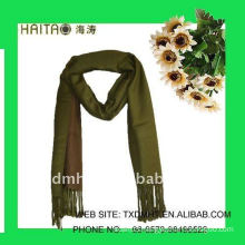 solid style with thick design wool imitation shawl