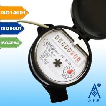 MID Сертифицированный одноструйный суходометр с дистанционным считыванием воды