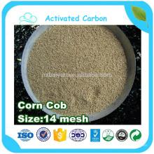 Harina de mazorca de maíz para el cultivo de hongos