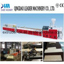 WPC PE PVC Decorate Decking Floor Machine Line Equipment
