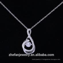 Pendentif en argent sterling croix de Malte importé bijoux fantaisie