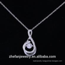 Sterling silver maltese cross pendant import fashion jewelry
