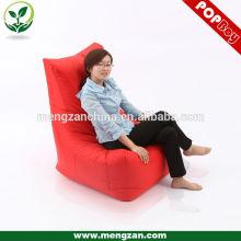 Famosos diseñadores de lujo de alta bolsa de frijol rojo silla jardín