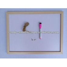 OEM magnetisches whiteboard mit hölzernem Rahmen 20 * 30cm