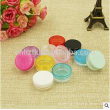 5g Probe Plastikdose für kosmetisches Pulver / kleine Flasche