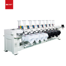 BAI High speed industry 8 head computerized embroidery machine for hat flat t-shirt with good price