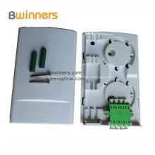 Prise de boîte à bornes à fibres optiques multifonctions à 2 ports