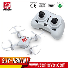 JJRC H8 Mini Headless rc White drone 2.4G 4CH 6 Axis Gyro 3D Rolling RC Quadcopter RTF