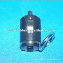 Cargador de coche mini de 34mm 5V600MA y 5V1200MA