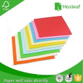 Manufactuer of A4 Color Packaging Paper for Office Use with 100% Wood Pulp
