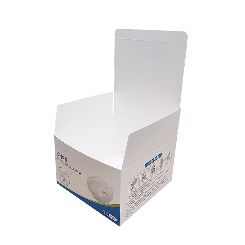 Kn95 Medical Mask Box Can Be Printed With Logo