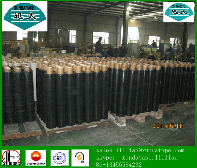 anticorrosive protection PE bitumen tape