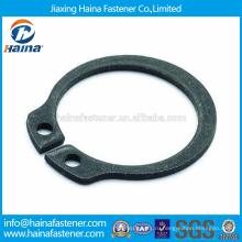 Китайский производитель Лучшая цена DIN471 Углеродистая сталь / нержавеющая сталь Подпорные шайбы для валов-нормального типа и тяжелого типа