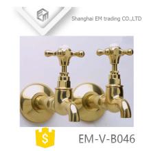 EM-V-B046 Robinet de bibcock d'eau froide mural pour machine à laver