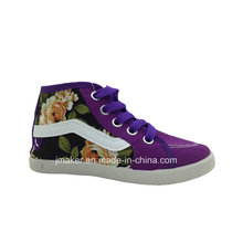 China Wholesale Children High Top Canvas Shoes (H267-S)