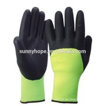 CE Nitril Acryl Frottee Handschuhe Winter
