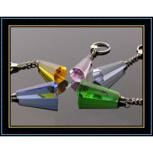 Colored Geometry Crystal Keychain (kc08)