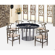 Round commercial restaurant table and chair XYN1136