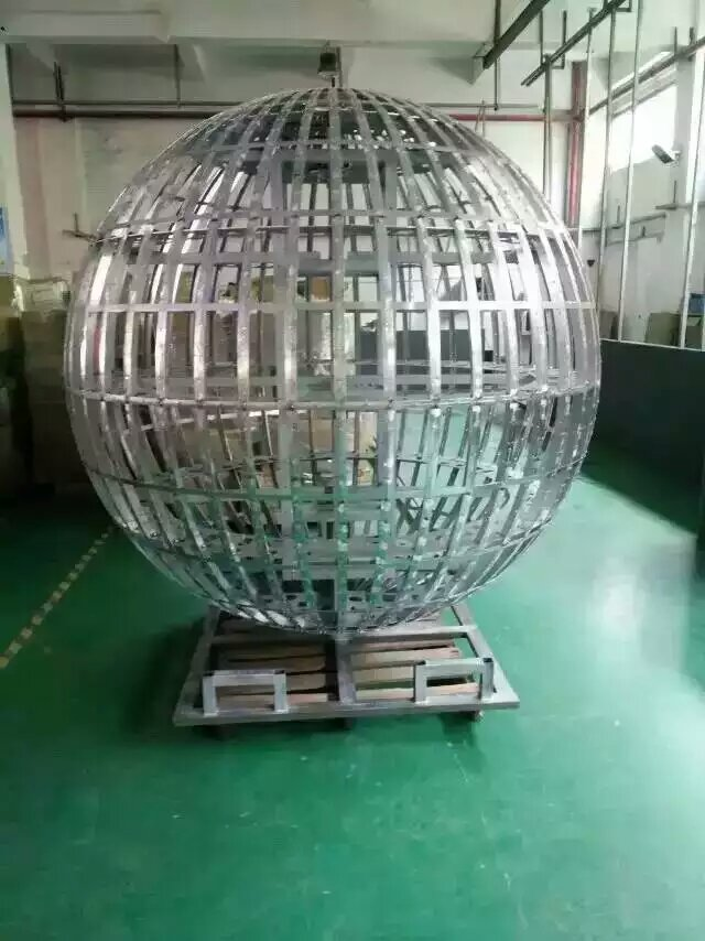 Spherical Led Display Installation