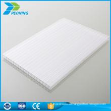 Bayer materia prima tres triple pared reciclado policarbonato hueco hoja pc
