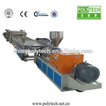 WPC/PVC Foam Board Plastic Machine /WPC Foam Sheet Line PVC Plastic Foam Board Extrusion Machine