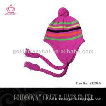 custom womens knitted winter hats
