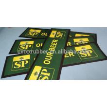 cloth beer mat, bar table mat