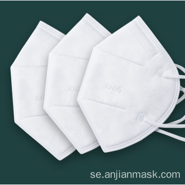Engångs ansiktsmasker KN95 Earloop Nonwoven Respirator Mask