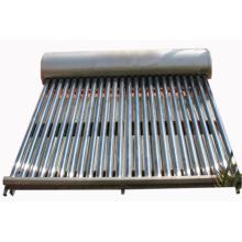 Chauffe-eau solaire de tube à vide domestique à basse pression