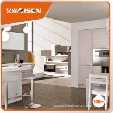 Hot selling wood veneer kitchens for kitchen popular for Canada market