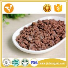 Alimentos para cães molhados Refeições para cães naturais Alimentos saudáveis para lata de sabor de atum