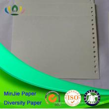 Estilo de pulpa reciclado y revestimiento sin recubrir Hojas de cartón de colores