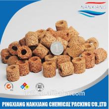 filter medium ceramic bio water ring&wholesale bio filter media