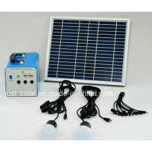 Sistema de iluminación de energía solar de 20W en mercados calientes