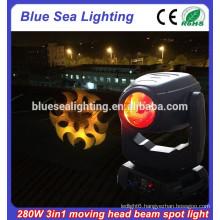 Robe osram 280W 10R 280 beam spot wash 3 in 1 moving head light