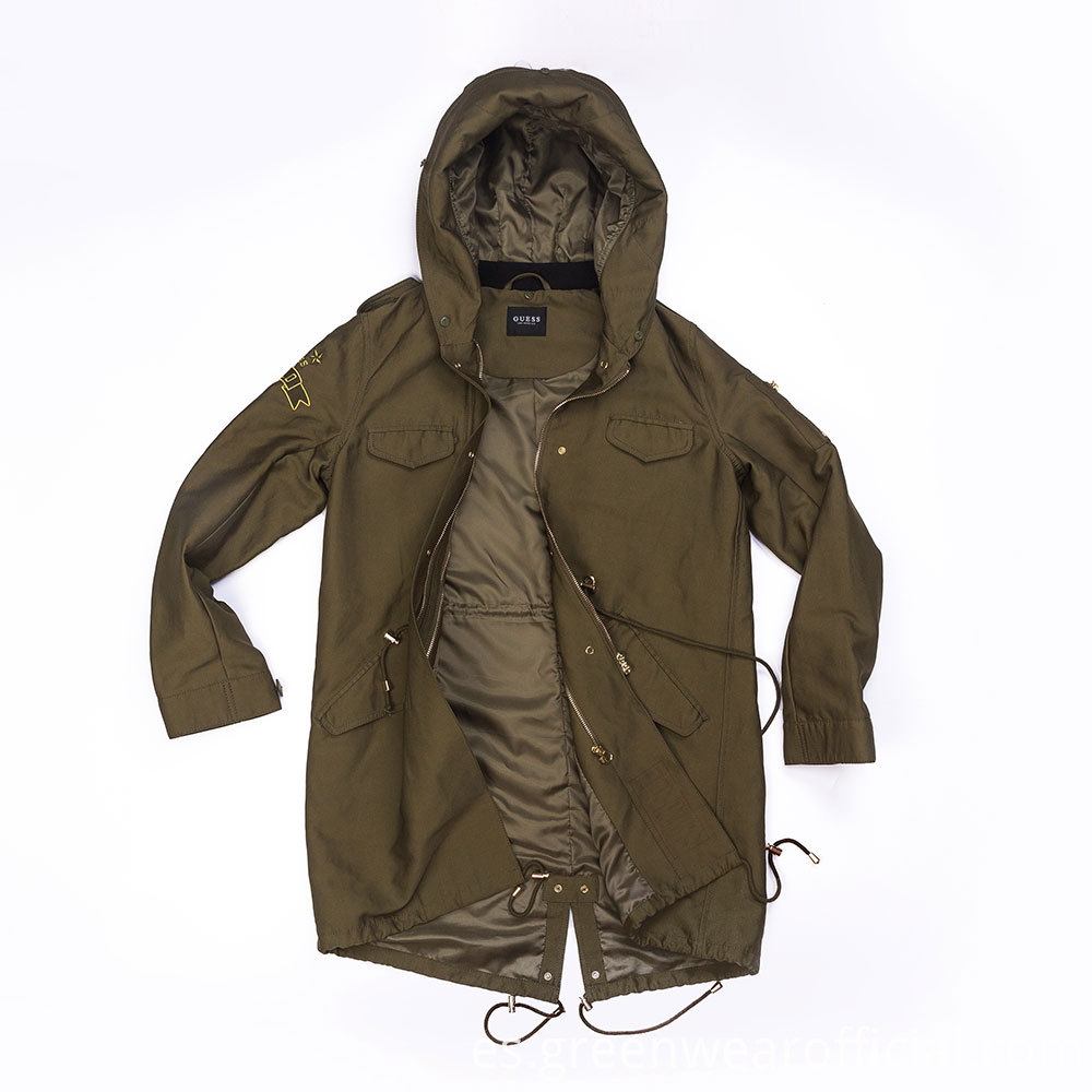 long parka coat ladies